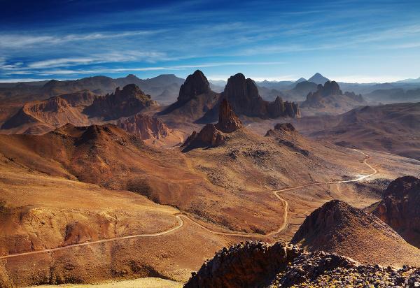 Pohorie Hoggar, Alžírsko