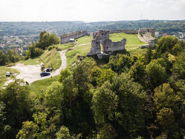 Ruiny hradu Kremenec, Ukrajina