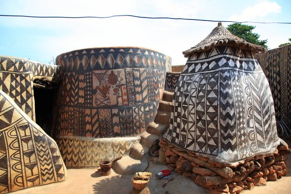 Dedina v Burkina Faso