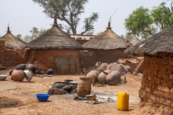 Tradičné príbytky, Burkina Faso