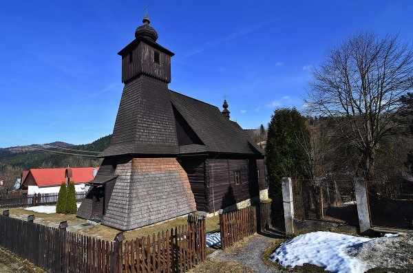 Drevený kostol zasvätený Nepoškvrnenému
