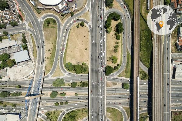 Cestná sieť v Sao