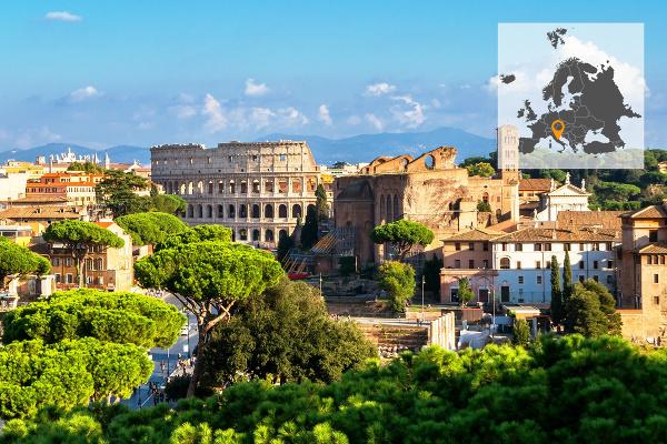 Talianske hlavné mesto Rím
