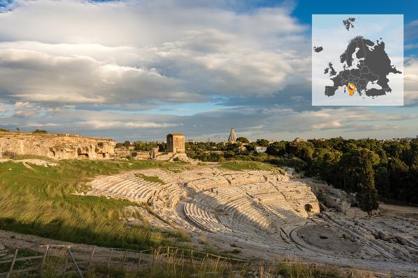 Grécke divadlo v Syrakúzach,