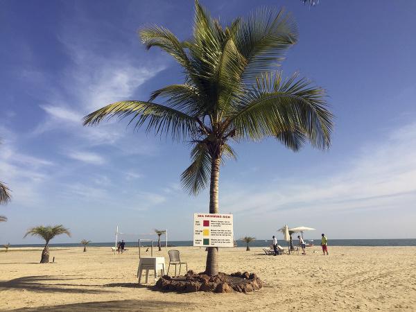 Pláž v hlavnom meste