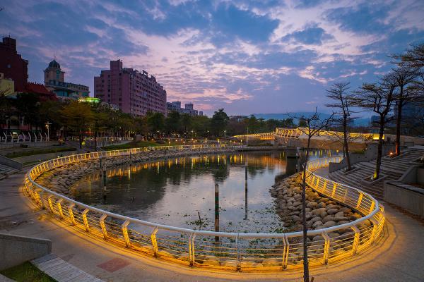 Rieka lásky, Kaohsiung, Taiwan