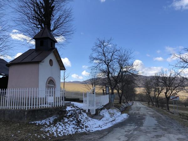 Na snímke kaplnka Panny