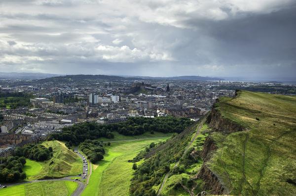 Arthur`s Seat, Edinburgh