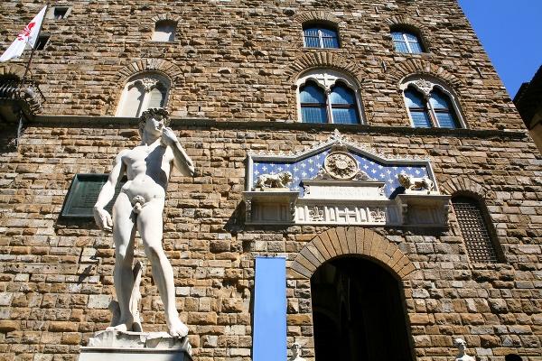 Michelangelov Dávid vo Florencii