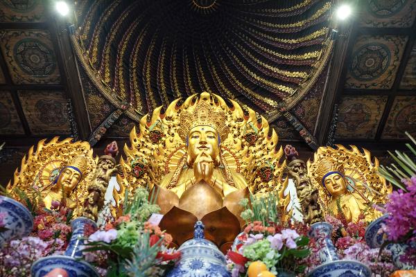 Chrám Jade Buddha, Šanghaj