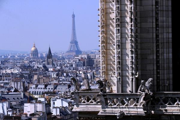 Z katedrály Notre-Dame v