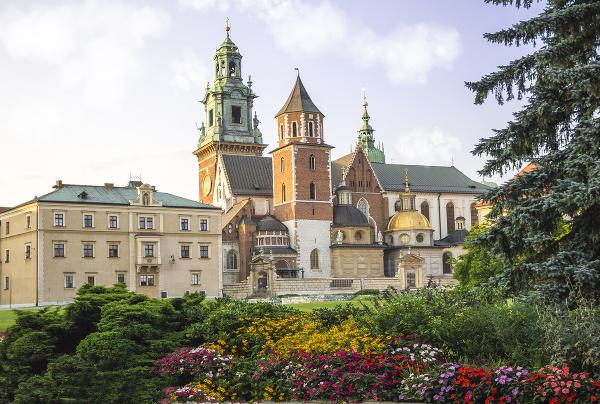Замок Вавель на польском языке