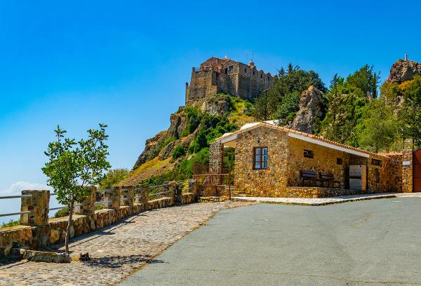 Kláštor Stavrovouni, Cyprus