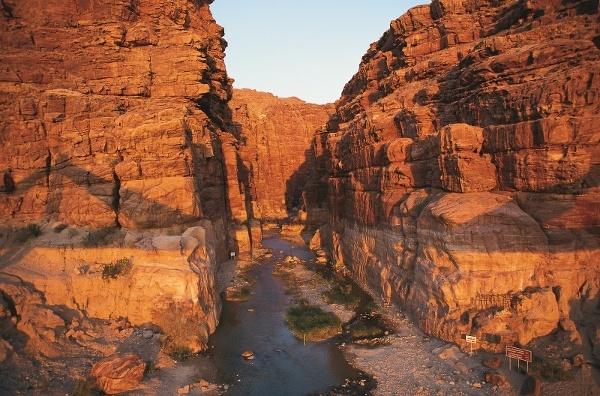 Wadi al-Mujib, Jordánsko
