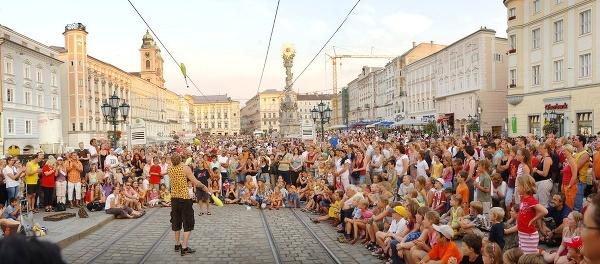 Festival v rakúskom Linci