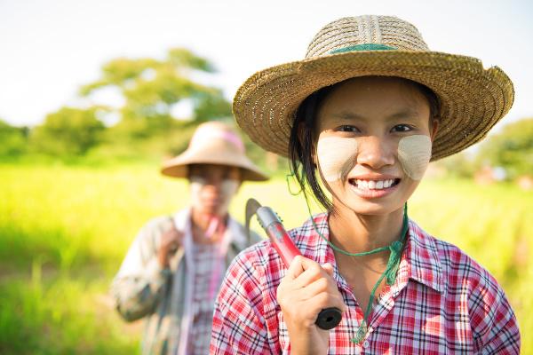 Mjanmarčanka