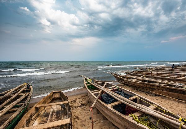 Lode pri jazere Tanganika