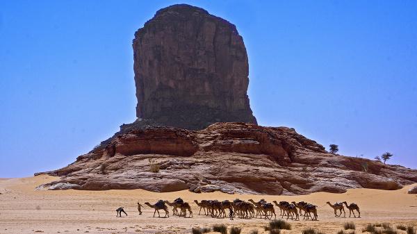 Karavána v Čade