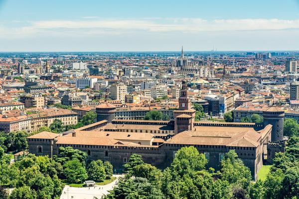 Palác Sforzovcov v Miláne