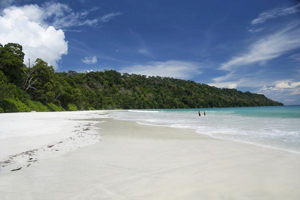 Ostrov Havelock, India