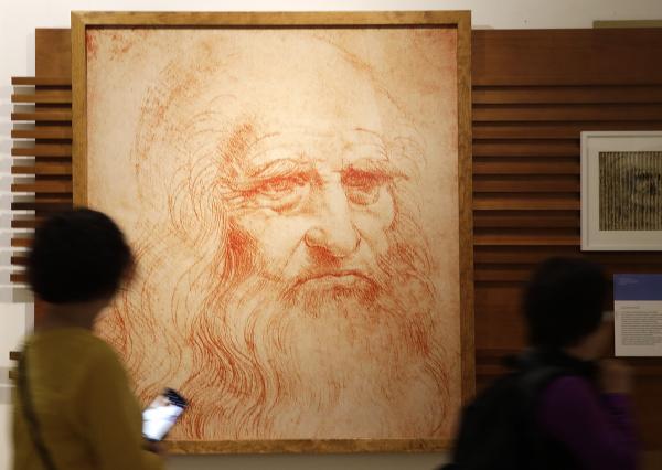 Portrét renesančného génia Leonarda