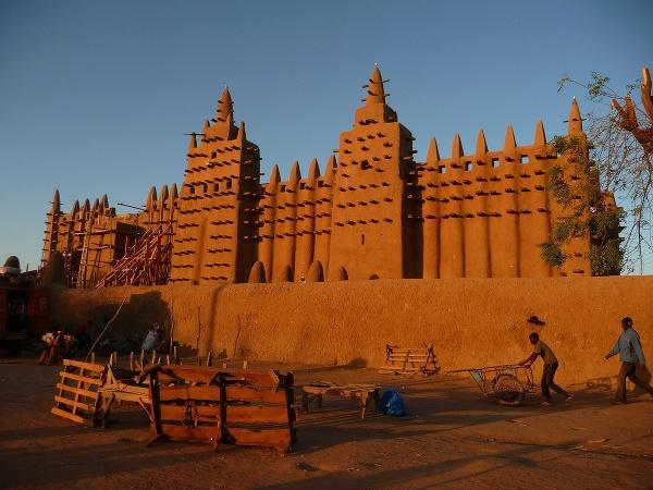Mešita v Mali