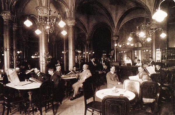 3df48eadf79e Café Central vo Viedni  Skvost medzi kaviarňami hostil Lenina ...