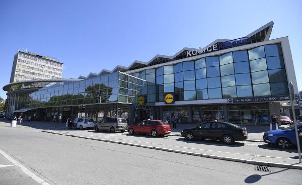 Železničná stanica v Košiciach