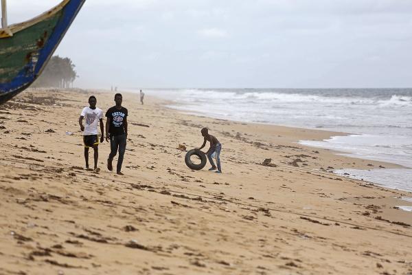 Grand Bassam, Pobrežie slonoviny
