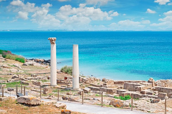 Tharros na Sardínii
