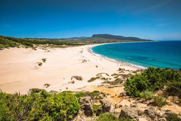 Bolonia beach, Španielsko