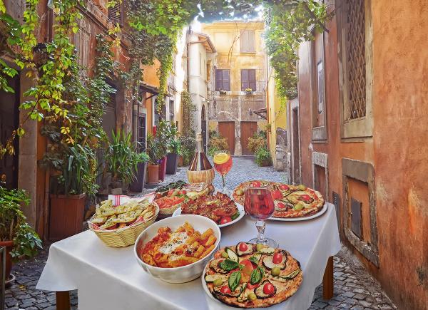 Reštaurácia v Taliansko