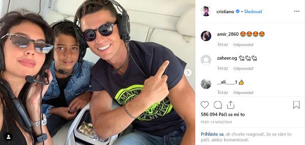 Cristiano Ronaldo sa s