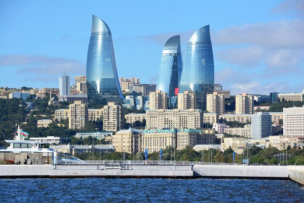 Flame Towers v Baku