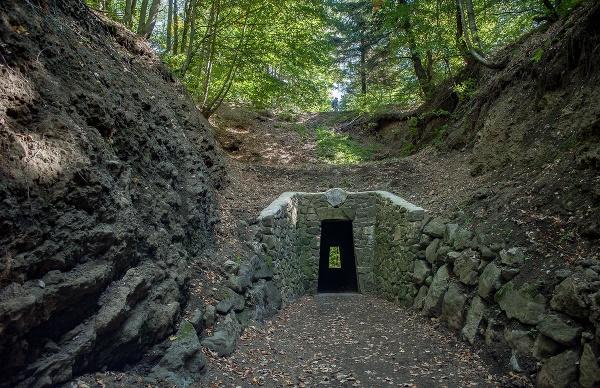 Na snímke Tunel na