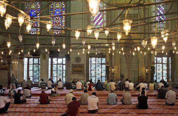 Modrá mešita v Istanbule
