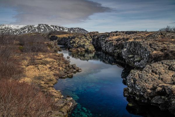 Silfra na Islande