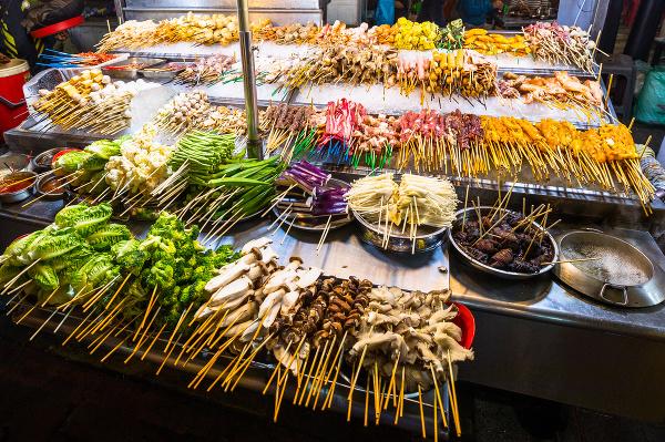 Čínsky streetfood