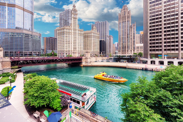 Plavba po rieke Chicago