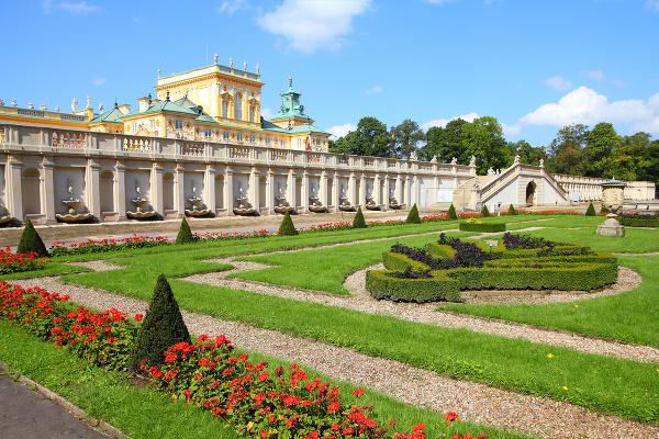 Palác Wilanow vo Varšave
