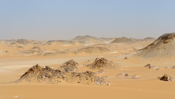Líbyjská púšt v Egypte