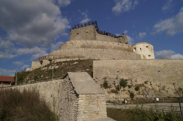 Stredoveká pevnosť Deva