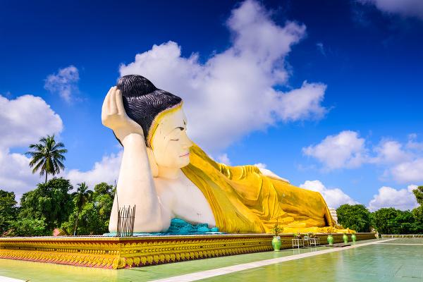 Ležiaci Budha, Mjanmarsko