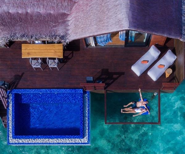 Luxusný hotelový ostrovný rezort