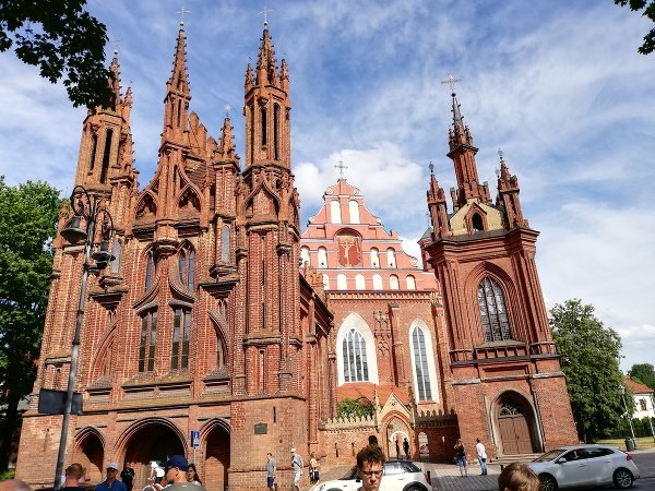 Vilnius, kostol sv. Anny