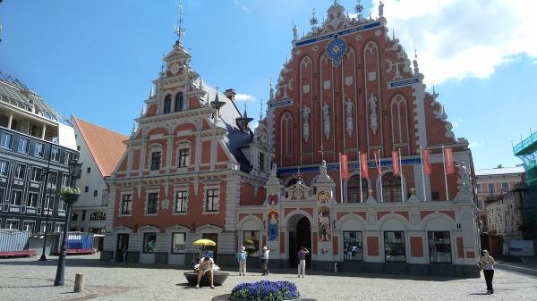 Riga - Dom čiernohlavcov
