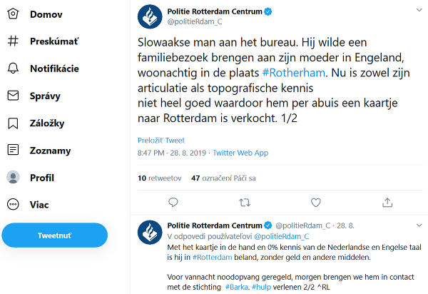 © Twitter / Politie
