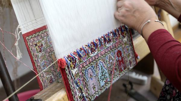Výroba kobercov v Turecku