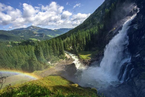 Krimmelský vodopád, Vysoké Taury