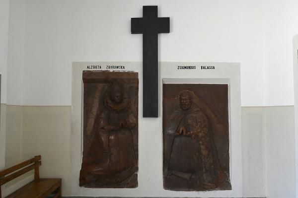 Portrét Žigmunda Balašu (vpravo)